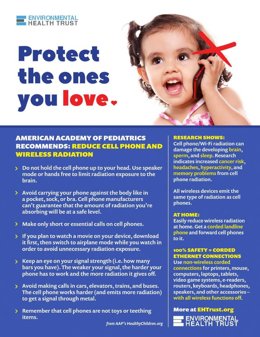 Protect Your Child's brain from mobile phone Radiation